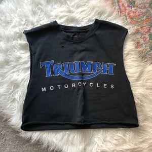Triumph motorcycle crop